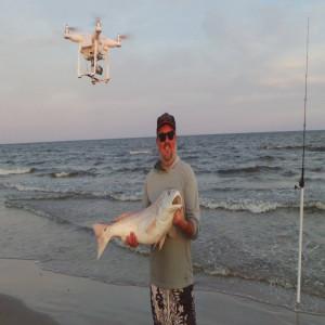 Drone Fishing Texas